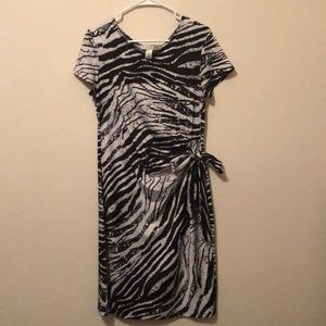 AA studio-Zebra Print Dress!